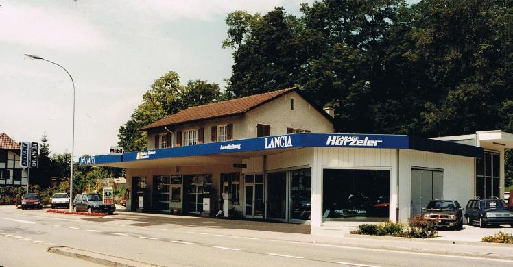 Garage1989_Einweihung_Neubau